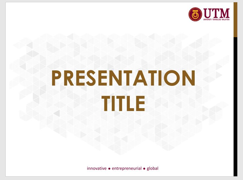 Presentation templates utm brand latest utm powerpoint presentation template click to download toneelgroepblik Image collections